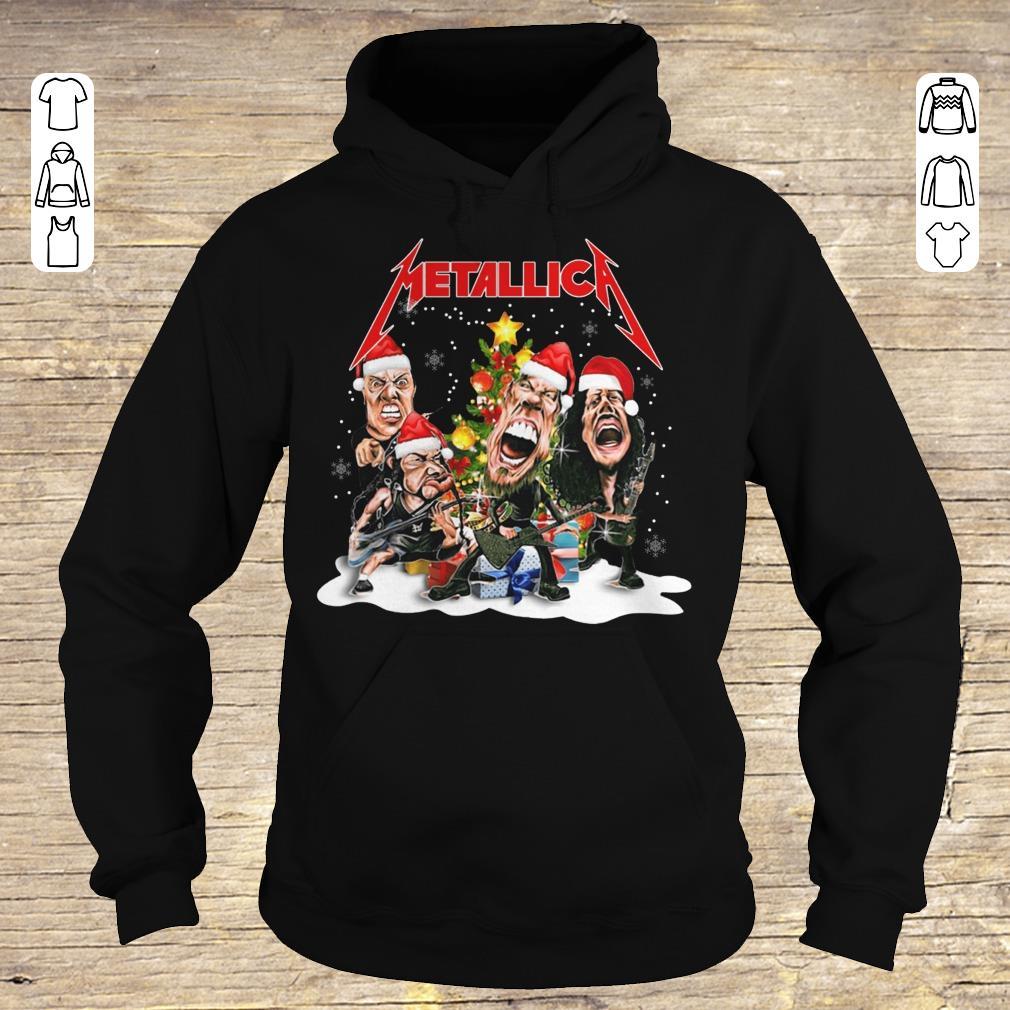 Pretty Metallica Christmas tree shirt Hoodie