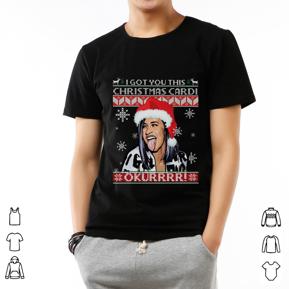 Top I Got You This Christmas Cardi B Shirt 2 1.jpg