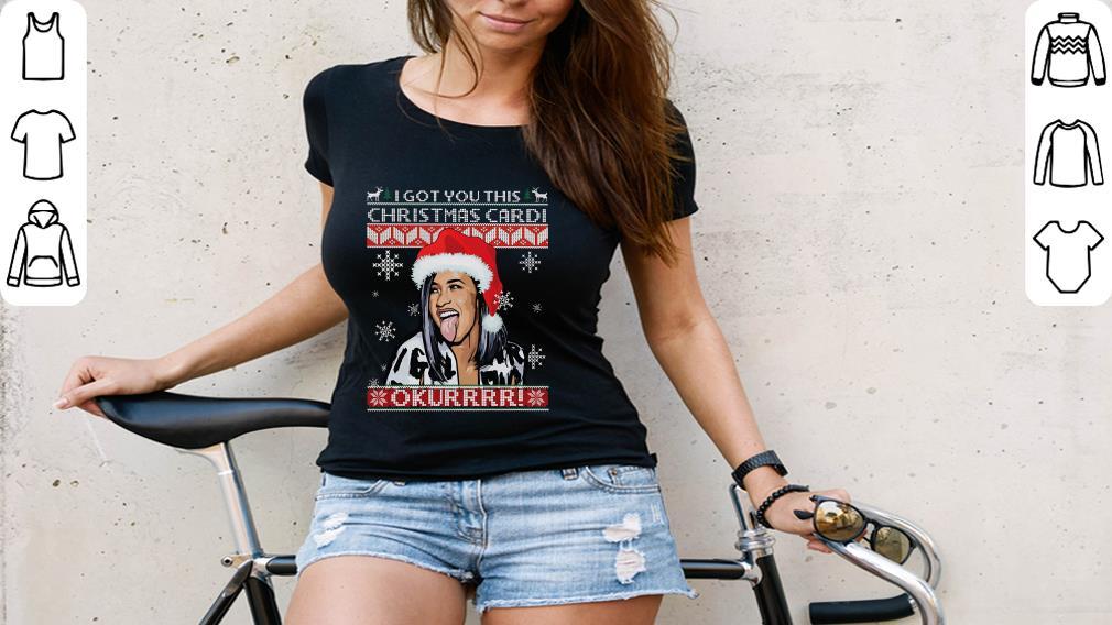 Top I Got You This Christmas Cardi B Shirt 3 1.jpg