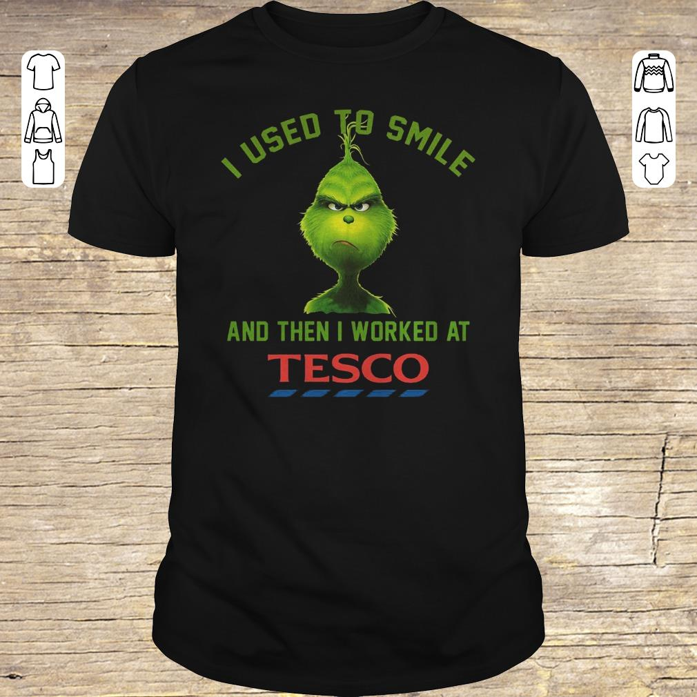 Top I used to smile and then i worked at Tesco shirt Classic Guys / Unisex Tee