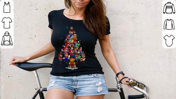 Awesome Super Mario Christmas Tree Shirt 3 1.jpg
