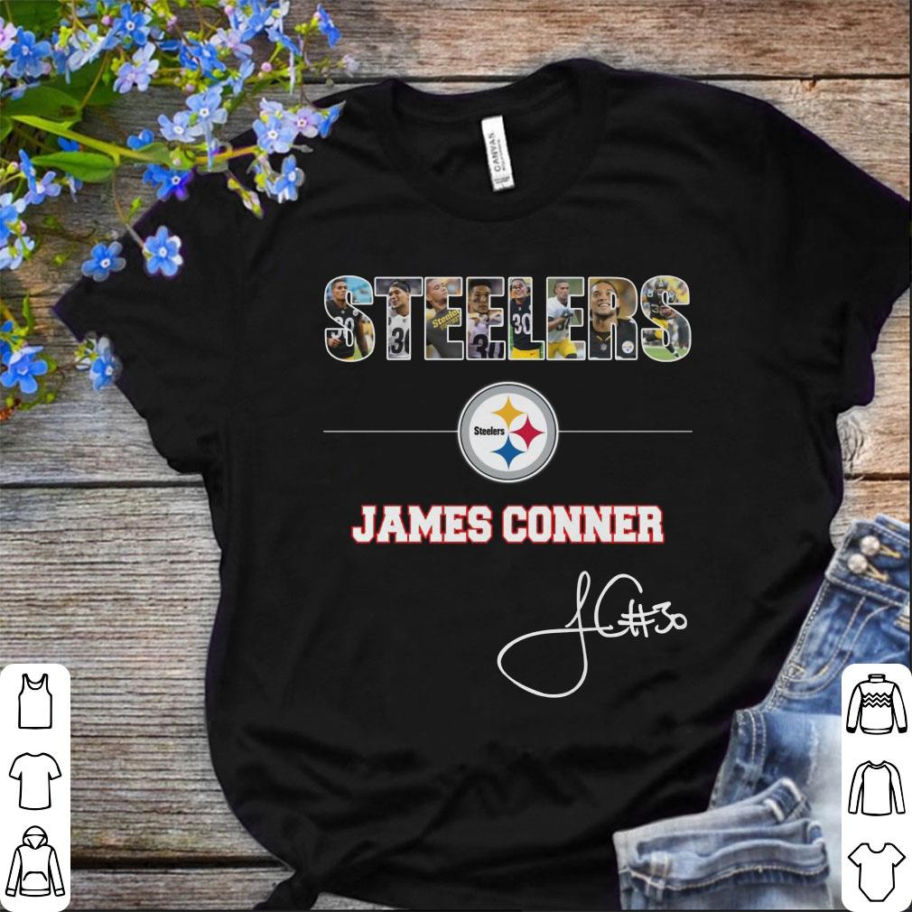 2d276fbb0b8 Funny Pittsburgh Steelers NFL James Conner Signature shirt, hoodie ...