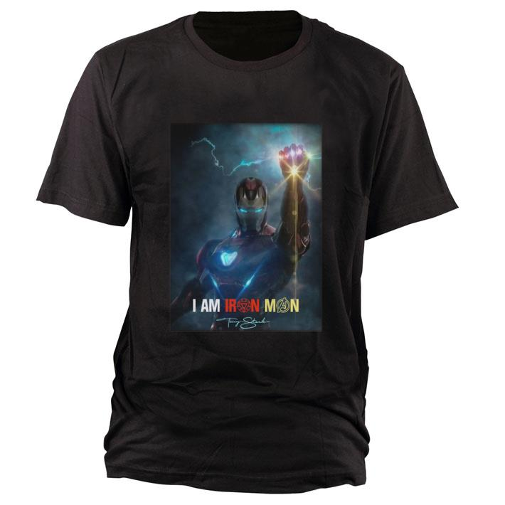 Hot I Am Iron Man Signature Avengers Endgame Potter Shirt 1 1.jpg