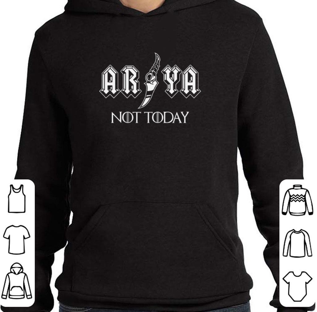 Original Game Of Thrones Arya NOT today Stark shirt