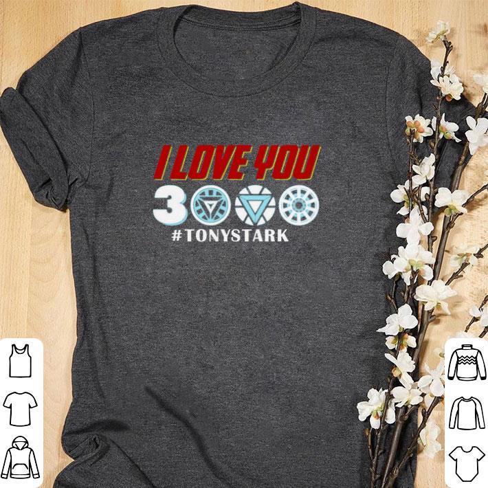 Premium Iron Man I Love You 3000 Tonystark Marvel Avengers Endgame Shirt 1.jpg