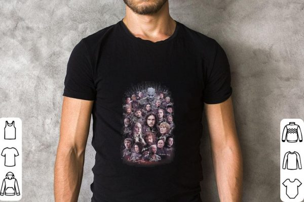 Pretty Game Of Thrones Signatures Characters Shirt 2 1.jpg