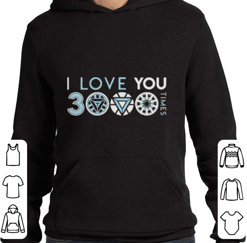 Pretty I love you 3000 three thousand times shirt