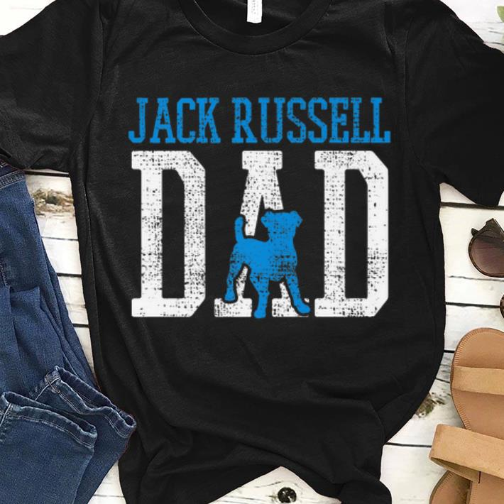 Pretty Jack Russell Daddy Father Dog Shirt