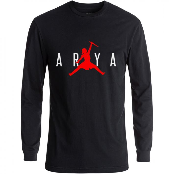 Hot Arya Stark Jumpman Game of Thrones shirt
