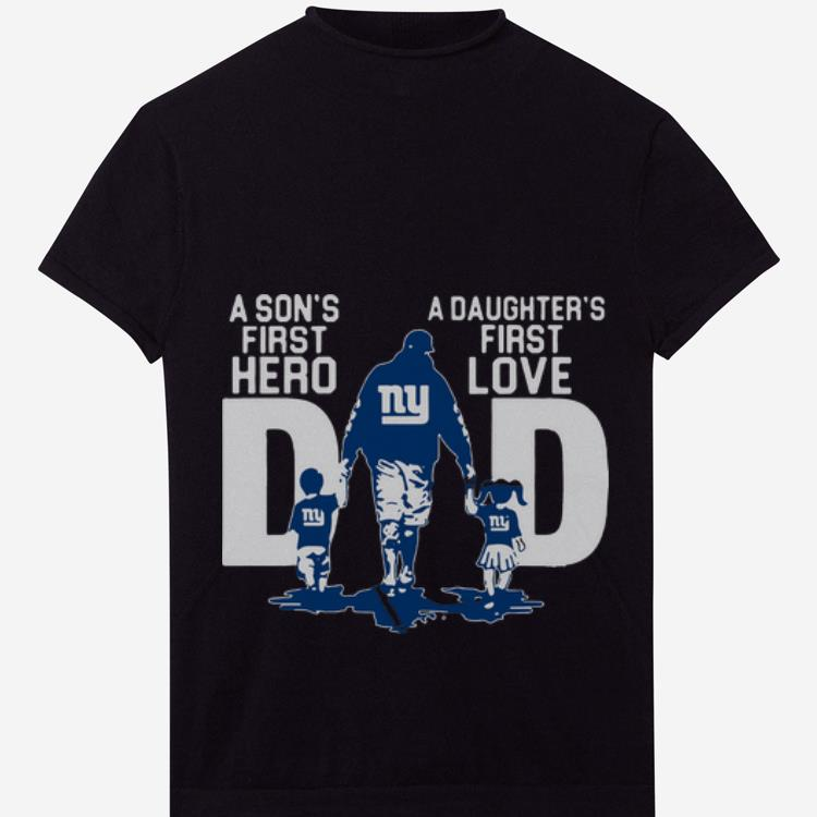 Official New York City A Son S First Hero A Daughter S First Love Dad Shirt 1 1.jpg