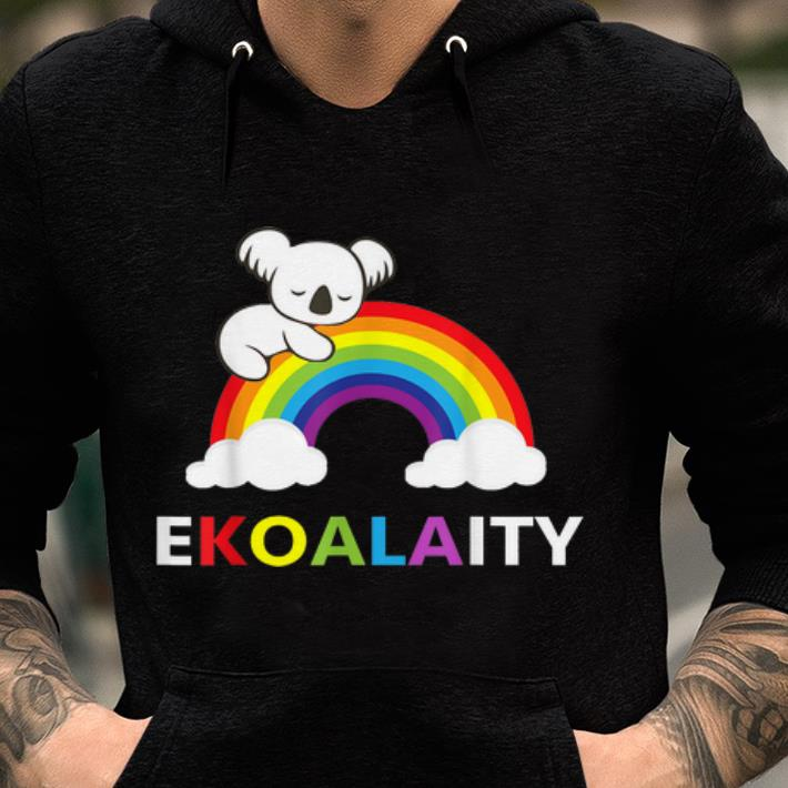 Original Koala Rainbow Flag NYC World Pride Ekoalaity shirt