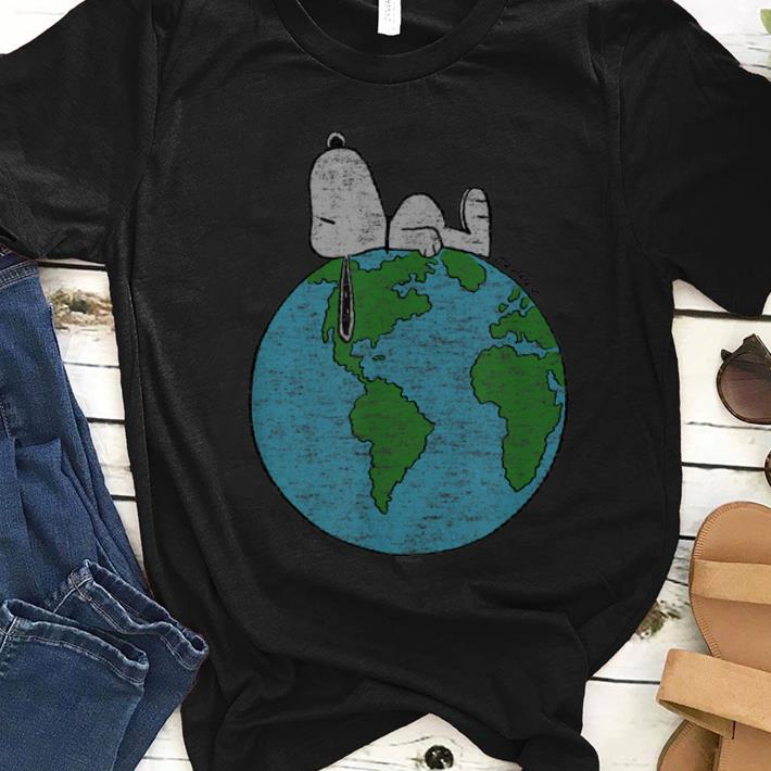 Original Peanuts Snoopy On Top Of The World shirt