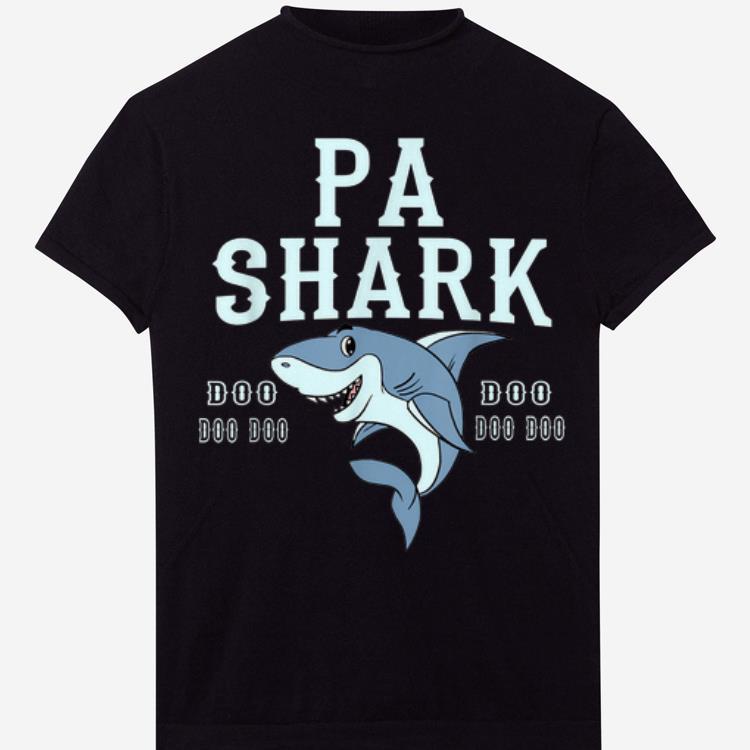 Pa Shark Doo Doo Doo father Day shirt
