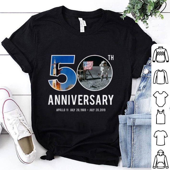 Awesome 50th Anniversary Apollo 11 Moon Landing 1969 2019 Astronaut Shirt 1 1.jpg