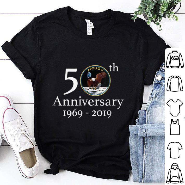 Awesome Apollo 11 50th Anniversary First Step On The Moon Nasa Moon Landing Logo Shirt 1 1.jpg