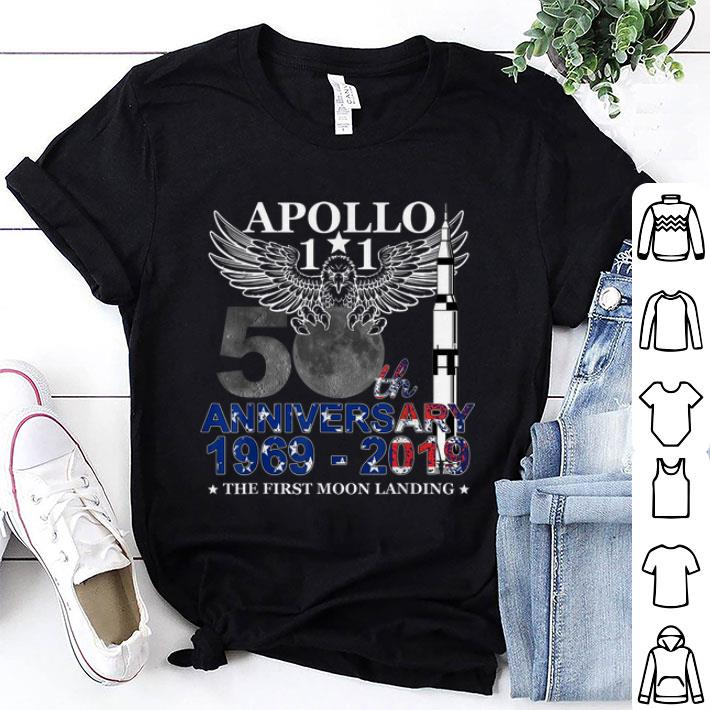 Awesome Apollo 11 50th Anniversary Moon Landing 1969 2019 American Proud Shirt 1 1.jpg