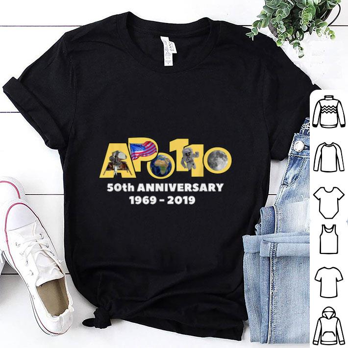 Awesome Apollo 11 50th Anniversary Moon Landing Walk 1969 2019 shirt