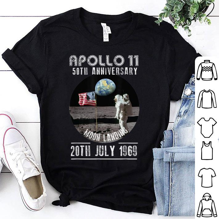 Awesome Apollo 11 First Step On The Moon 50th Anniversary Moon Landing 1969 2019 Shirt 1 1.jpg