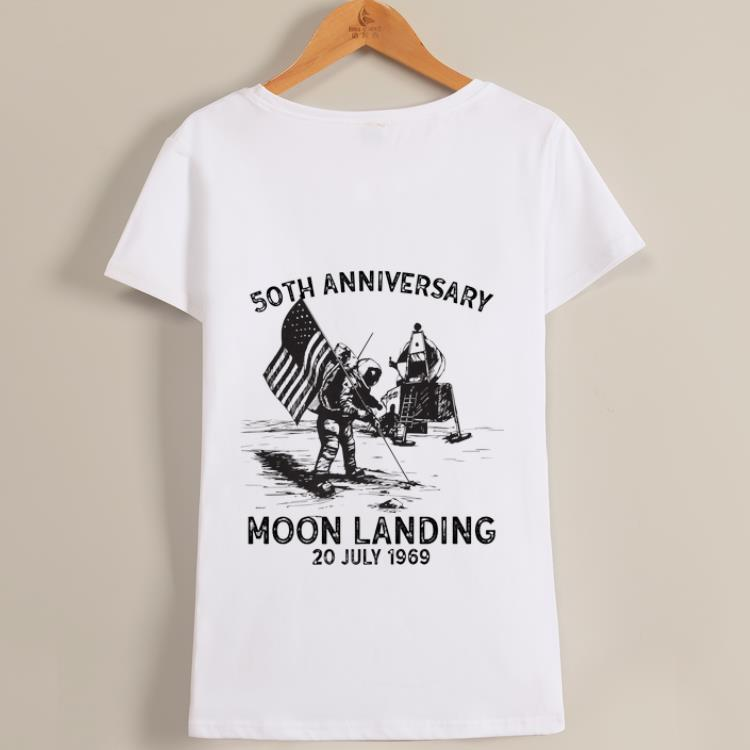 Awesome Vintage 50th Anniversary Moon Landing 1969 2019 Giant Leap Shirt 1 1.jpg