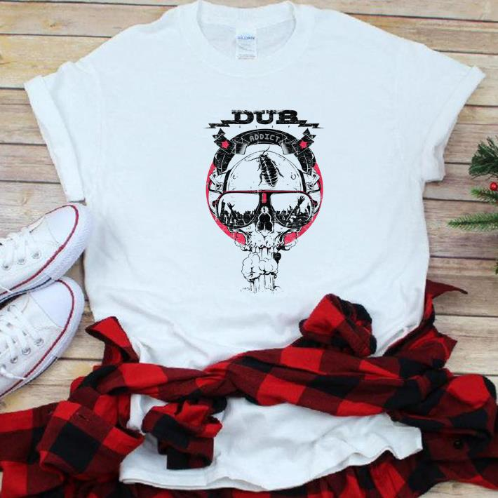 Hot Dub Step Techno Rave Dance Music Skull shirt