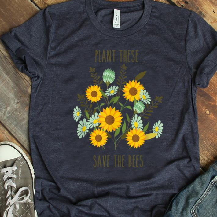 Hot Great Plant These Save The Bees Vintage Retro shirt