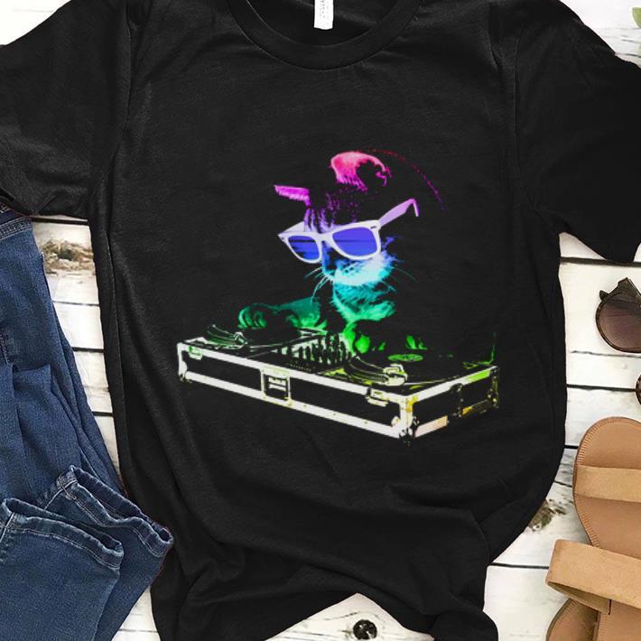 House Cat Rainbow DJ Kitten Make Music For The Feeling