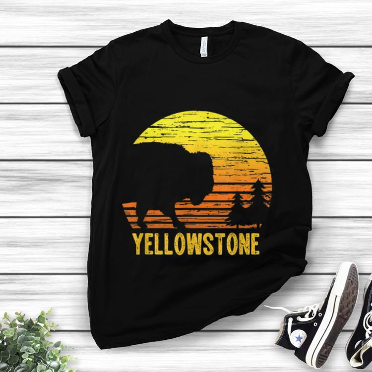 Premium Trending Vintage Yellowstone National Park Retro Travel shirt