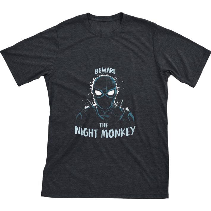 Pretty Beware The Night Monkey Spider Man Far From Home Shirt 1 1.jpg