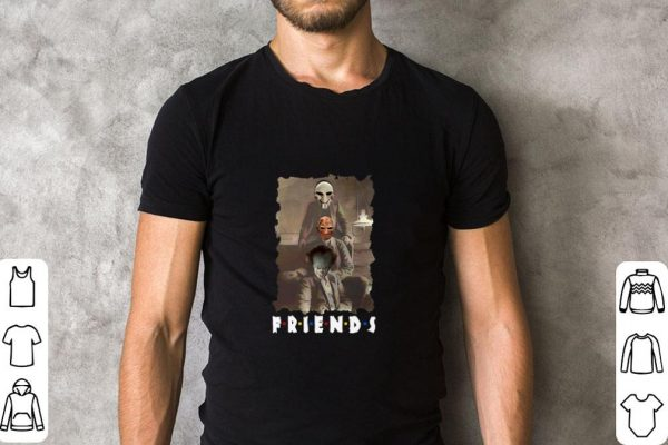 Awesome Friends Horror Movie Jigsaw Freddy Krueger Pennywise Creepy Shirt 2 1.jpg