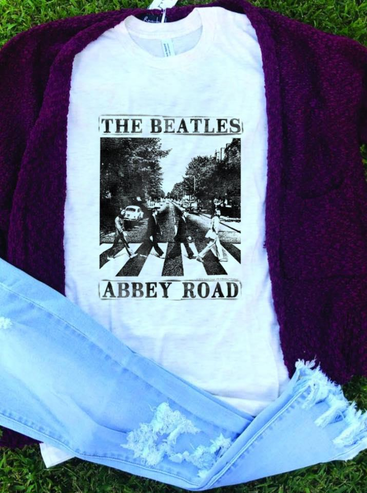 Best price The Beatles Abbey Road Lengend Music Band shirt