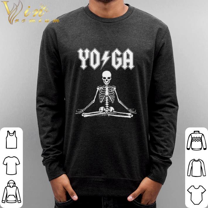 Original ACDC Skeleton YOGA shirt