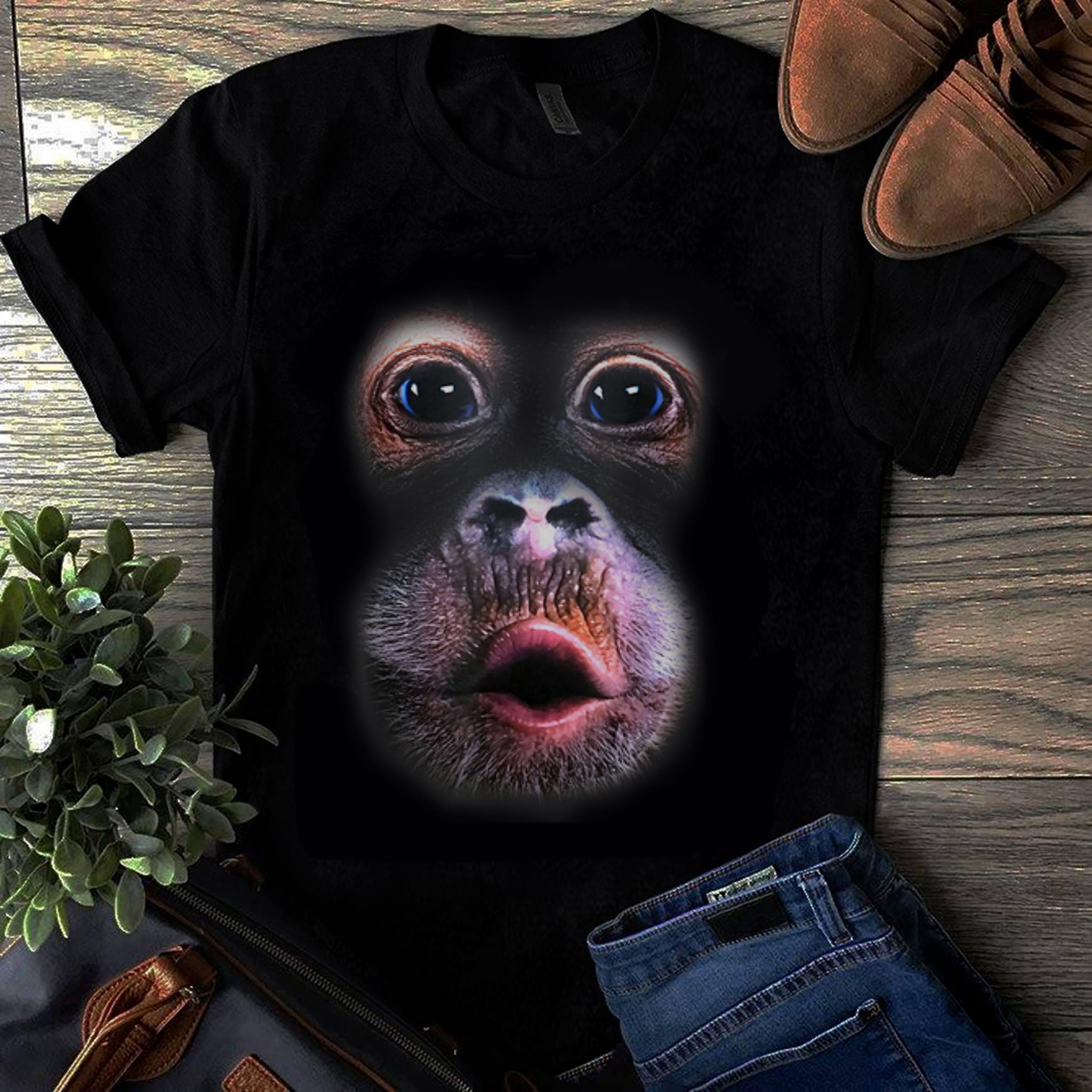 Original Monkey Stomach Breathing shirt