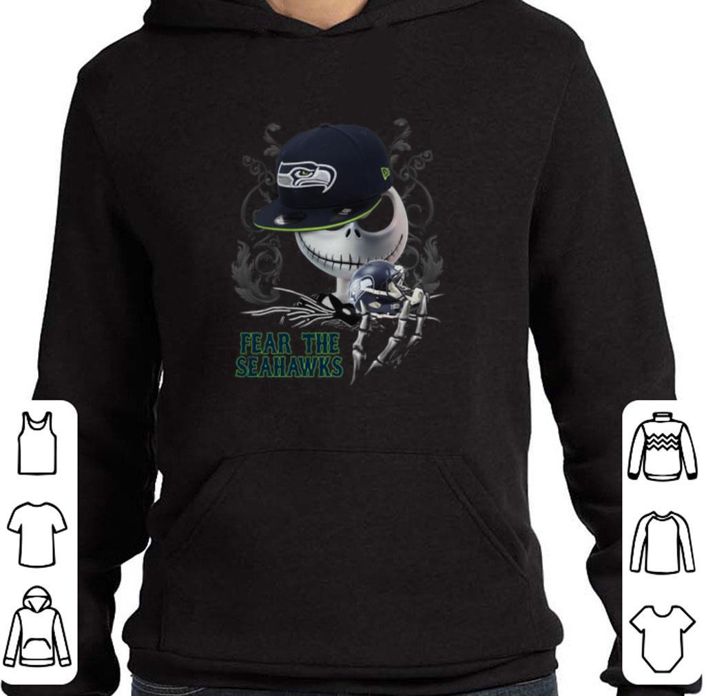 Awesome Jack Skellington Fear The Seahawks shirt
