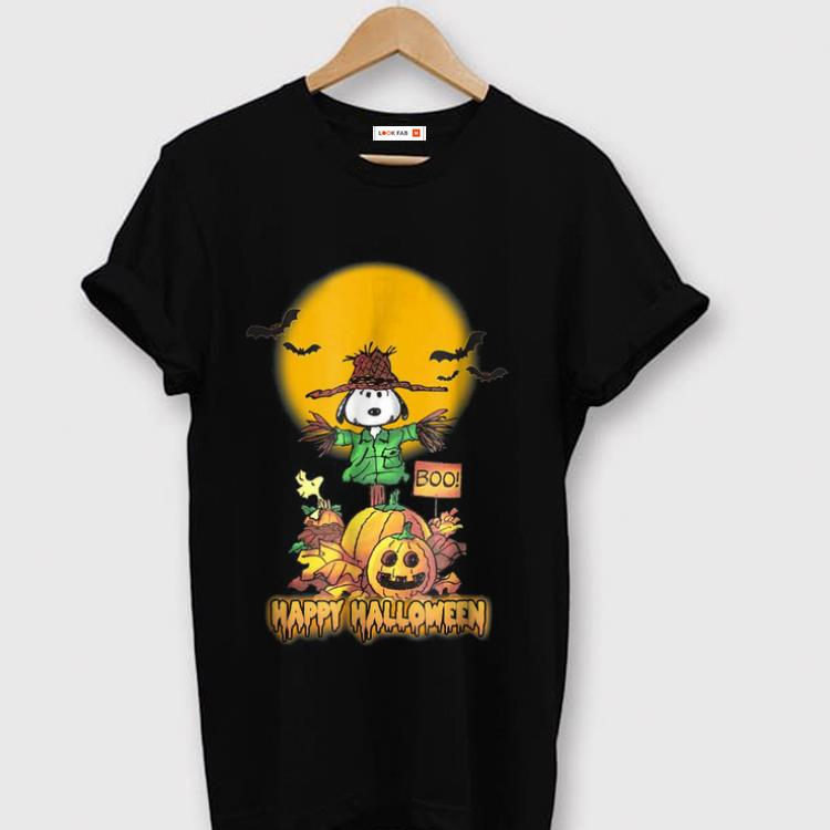 Awesome Peanuts Snoopy Happy Halloween shirt