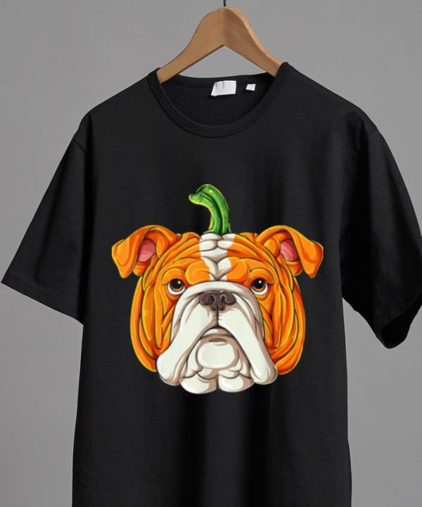 Nice English Bulldog Pumpkin Halloween Kids Thanksgiving Shirt 2 1.jpg