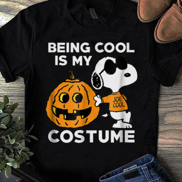Official Peanuts Snoopy Being Cool Is My Halloween Costume shirts