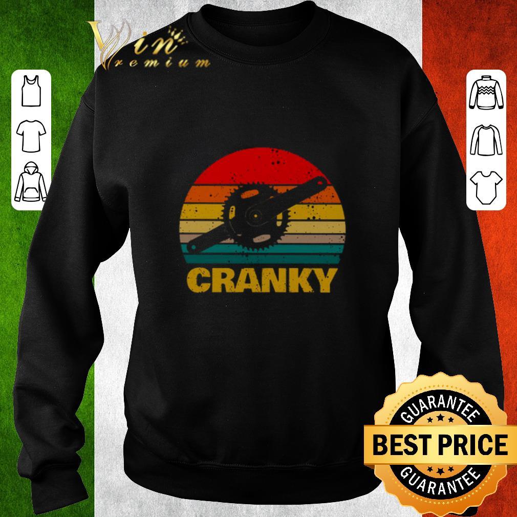 Original Cranky bicycle vintage shirt