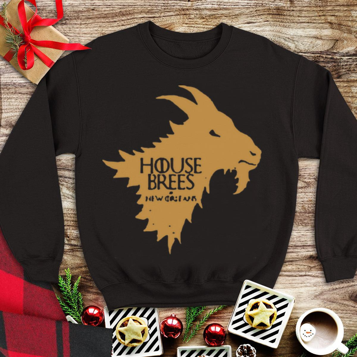 Awesome Game Of Thrones House Stark House Brees shirt