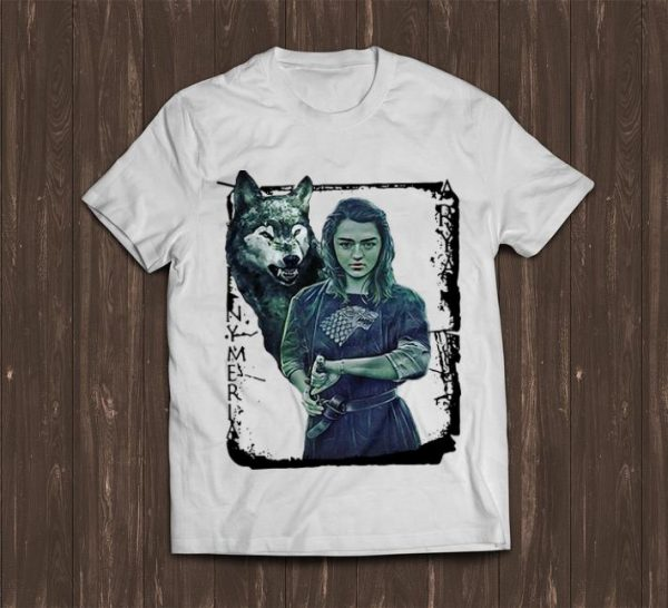 Funny Game Of Thrones Nymeria Arya Stark Shirt 1 1.jpg