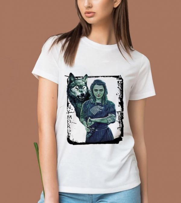 Funny Game Of Thrones Nymeria Arya Stark Shirt 2 1.jpg