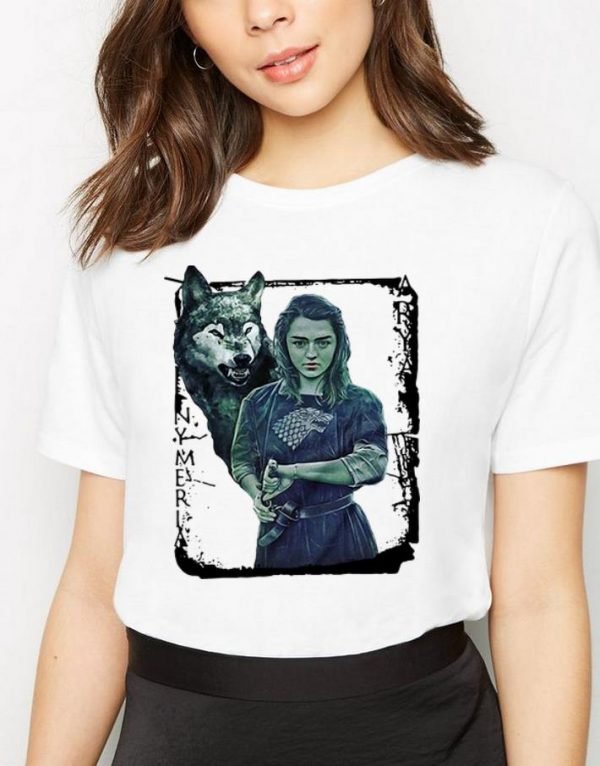 Funny Game Of Thrones Nymeria Arya Stark Shirt 3 1.jpg