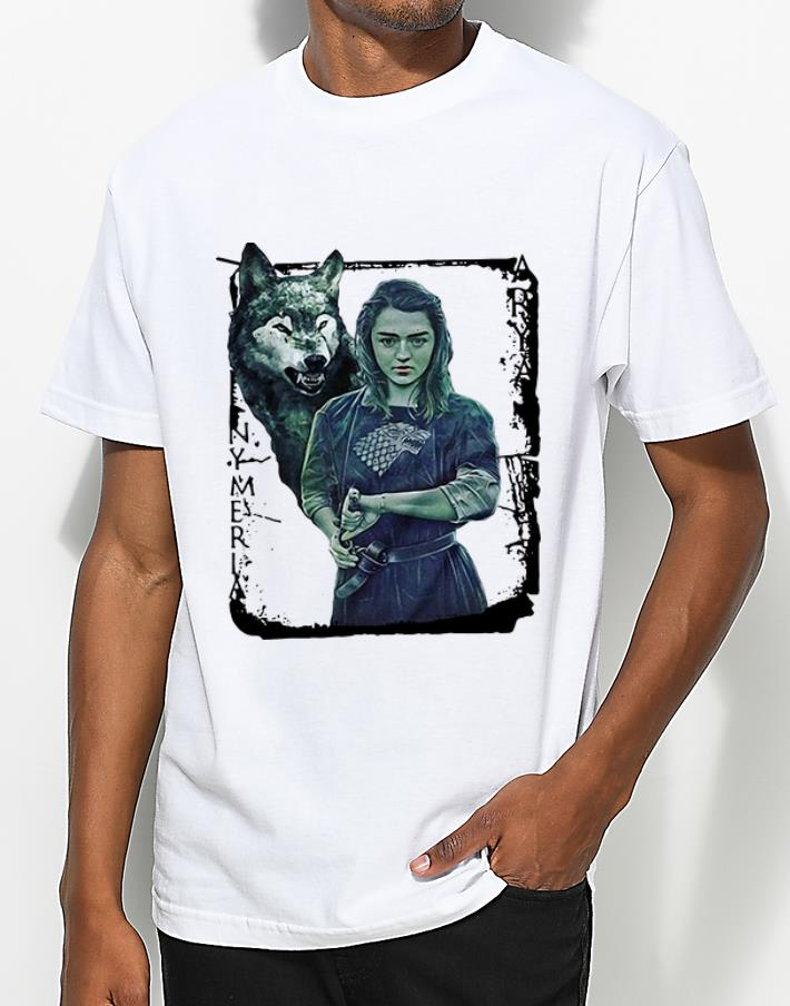Funny Game Of Thrones Nymeria Arya Stark shirt