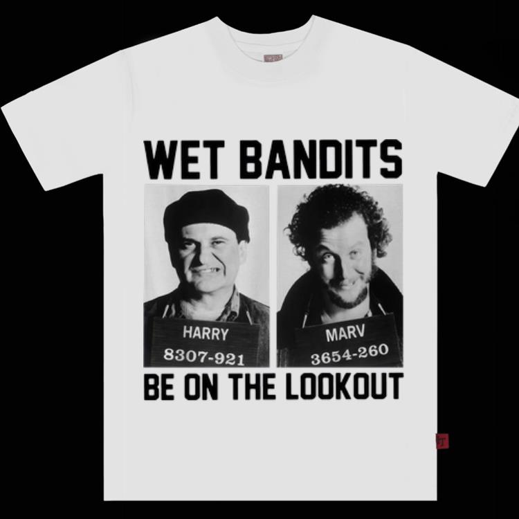 Home alone hot women Hot Home Alone Harry And Marv Wet Bandits Be On The Lookout Shirt Hoodie Sweater Longsleeve T Shirt