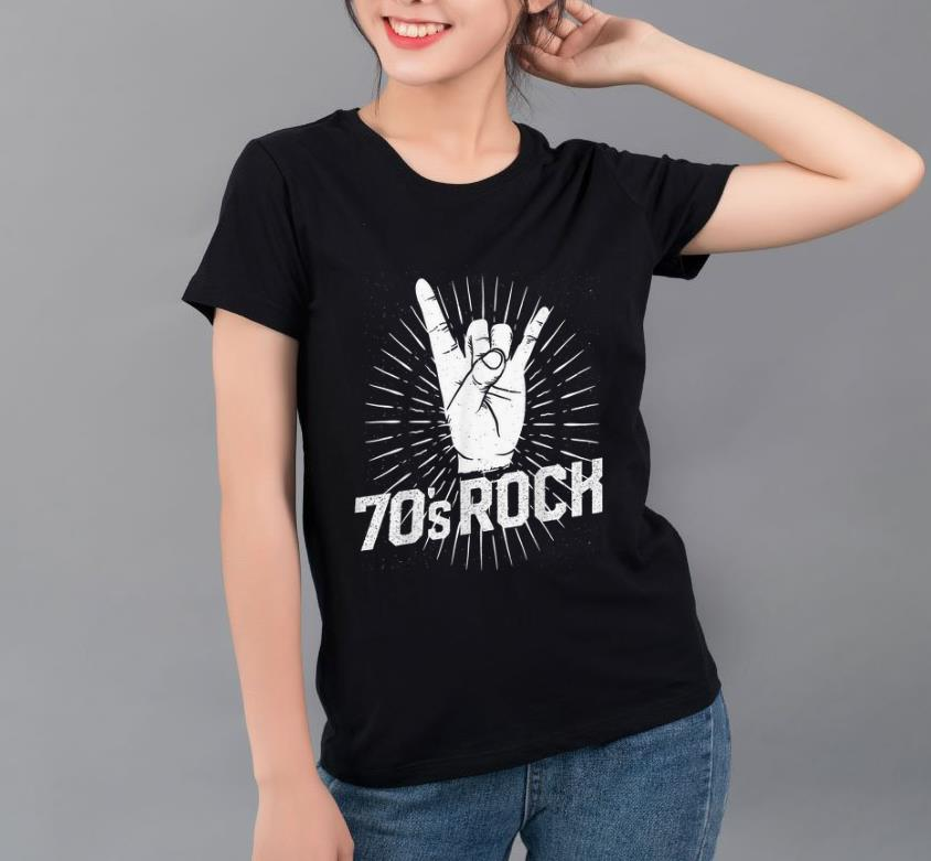 Official 70s Rock Costume Clothes Music Band Party Halloween shirt