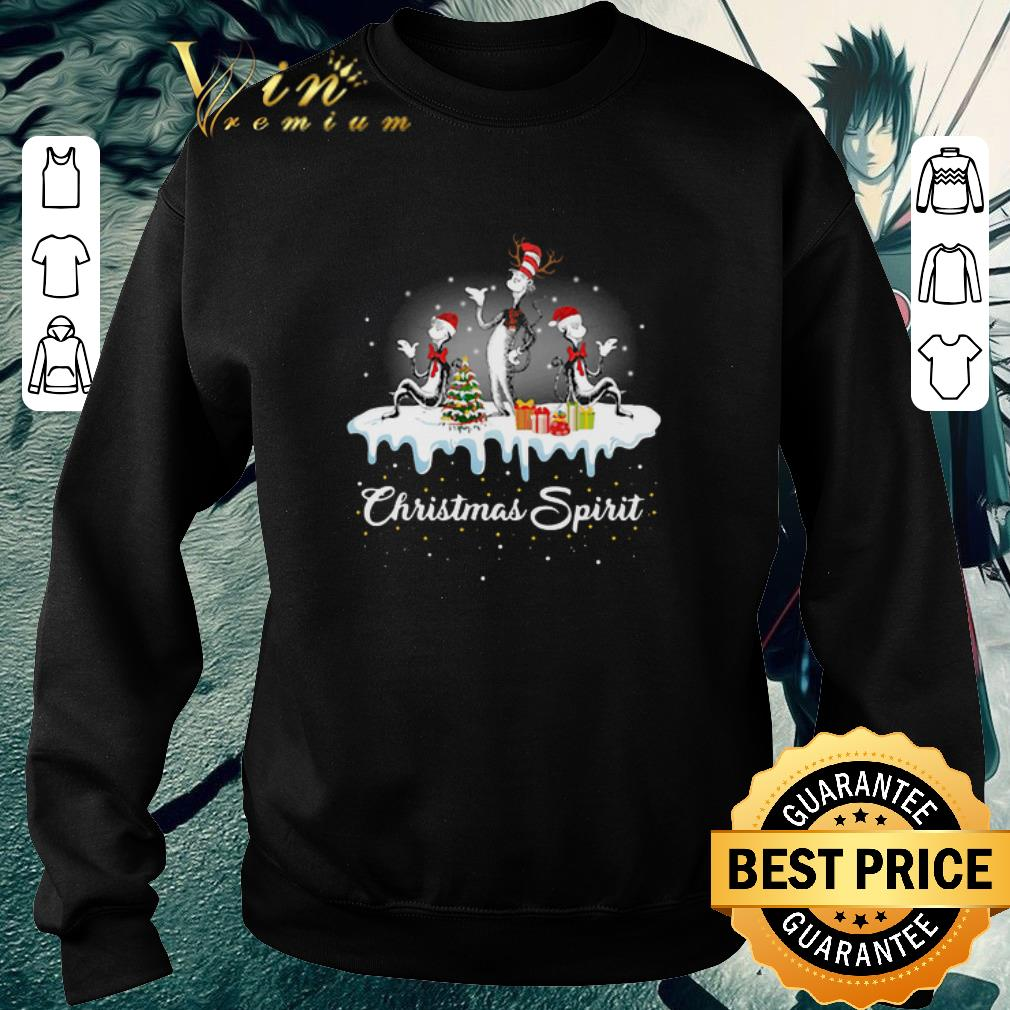 Awesome Dr Seuss Christmas Spirit shirt