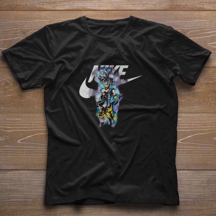 Awesome Dragon ball Son Goku Ultra Instinct Nike just do it