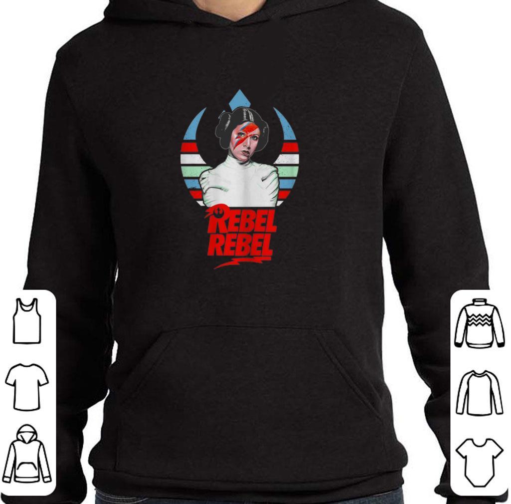 Awesome Princess Leia David Bowie Rebel Rebel shirt