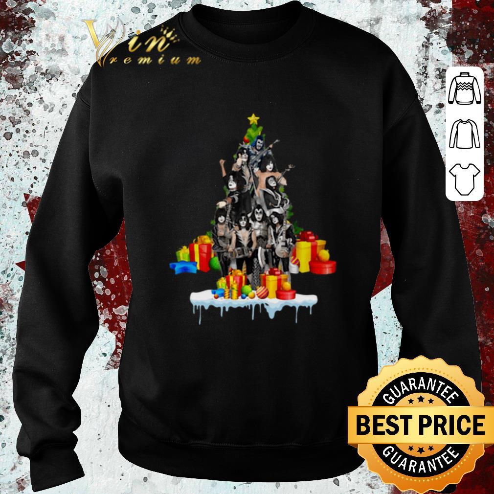 Original Kiss Christmas Tree Gift shirt