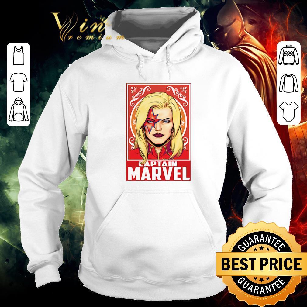 Premium Kiss Captain Marvel Space Pose shirt