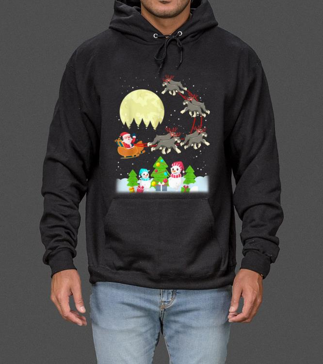 Great Schnauzer Reindeer Christmas Tee Dog Lover Gifts sweater